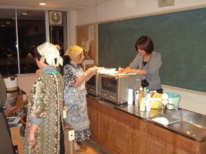 若柳金成商工会女性部 「150年前のお菓子づくり講習会」