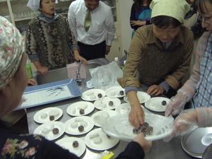 若柳金成商工会 「150年前のお菓子作り」
